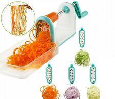 Spiral Vegetable Slicer Cutter Spiralizer Potato Fruit Maker Peeler Kitchen Tool