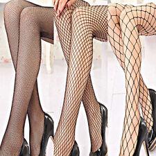 Women Ladies Black Fishnet Tights Net One Size Pattern Burlesque Hoise Pantyhose