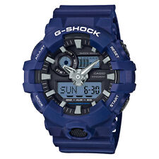 Casio GA-700-2A G-SHOCK Quartz Analog Digital Resin Casual Men's Watch - Blue