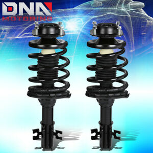 FOR 1997-2002 FORD ESCORT/MERCURY TRACER PAIR FRONT COIL SPRING SHOCK STRUTS