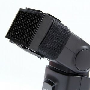 Honeycomb Grid Filter For Flashguns Universal UK Seller