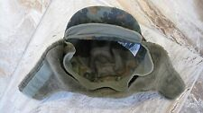 Albert Kempf Camo Cotton/Wool German Army Patrol Hunting Hat Cap Small 57 US 6.5