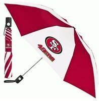 San Francisco 49 ers Regenschirm Automatic Pocket Umbrella,NFL Football,Neu