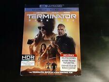 Terminator Dark Fate 4k Ultra+Blu Ray W/Slipcover No Digital Lot D4
