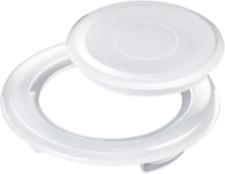 Bememo 2 Inch Patio Table Umbrella Hole Ring and Cap Set, Standard Size Umbrella