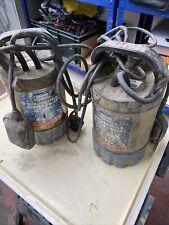 2 Draper Submersible Water Pumps