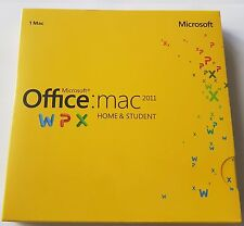 Microsoft Office Mac Home & Student 2011 DVD Install