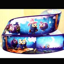 Giggle and Hoot Ribbon 1m long Hootabelle (blue)