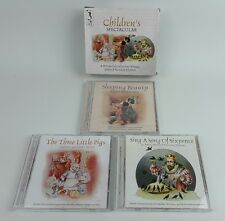 Childrens Spectacular 3 CD Set - Three Little Pigs Sleeping Beauty Sing a Song