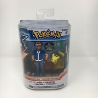 Tomy Pokemon XY Trainer Figure Ash & Pikachu 2015 New In Open Box