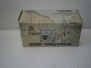 FOURGON MINIATURE CITROEN TYPE H - 1947 VAN POMMERY MATCHBOX YTF6 1/43 - 1:43eme