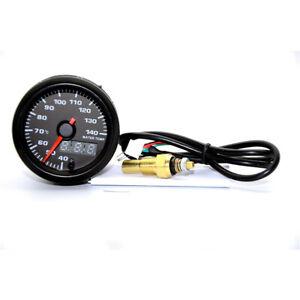 """2"""" 52mm 7 Colors LED Car Water Temp Gauge 40-140 Celsius Water Temperature Meter"""
