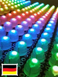 10St 5V WS2811 adressierbare F5 5mm RGB LED Neopixel ähnlich WS2812B