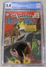 ALL-AMERICAN MEN OF WAR (1952)  #28  CGC 5.0  Joe Kubert art (DC Comics)!!