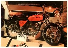 Cartolina Moto Norton 750 cc Commando