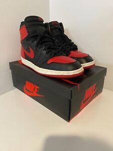 """VTG RARE 1994 Nike Air Jordan 1 """"Bred! Size 13! OG! Banned! The Last Dance!"""