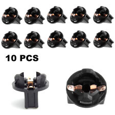 10Pcs T10 Wedge 194 168 2825 W5W Twist Lock Socket fit Instrument Cluster Light
