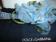 DOLCE & GABBANA SWAROVSKI CRYSTAL CHOKER NECKLACE DUST BAG STUNNING!!!