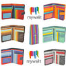 Mywalit Large Snap Wallet Zip Around Purse With Pen In Various Colours 229