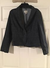 Ladies Jacket By White House Black Market Size 8 In Very Good Condition!