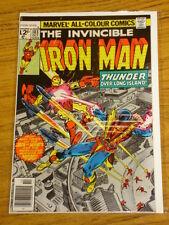 IRONMAN #103 VOL1 MARVEL COMICS JACK OF HEARTS APPS OCTOBER 1977