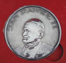 Polonia-papa juan pablo ii. - 600 años Jasna Gora-plata-mirar