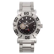 Croton Men's CA301284SSBK Vortex Automatic Open Heart Window 48mm Watch