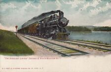 Postcard Railroad Overland Limited Chicago & North Western