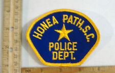 HONEA PATH SOUTH CAROLINA POLICE  FABRIC PATCH