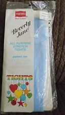 1 Pair Hanes Red Label Beverly Jane Tights Size 0-1