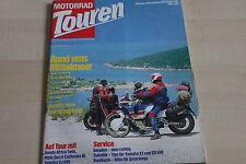 152508) Yamaha XT 500 + SR 500 - Motorrad Touren 04/1988