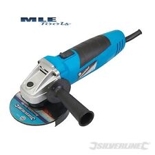 Silverline 500W Angle Grinder 115mm DIY Workshop Fabrication Disc Cutter 264153