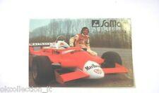 ADESIVO AUTO F1 anni '80 / Old Sticker F1 BRUNO GIACOMELLI (cm 11 x 8) SAMAR