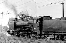 Victorian Railways Steam K154 Shunting in Traralgon Goods Yard April 1971