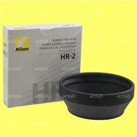 Genuine Nikon HR-2 Rubber Lens Hood for AI-S 50mm f/1.2 AF 50mm f/1.4D f/1.8D