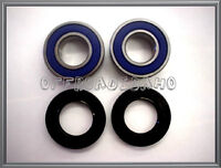 REAR WHEEL AXLE BEARING SEAL KIT KAWASAKI KDX200 1994 1995 1996 1997 KDX 200