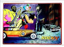 *665 New Orleans Jazz Poster Vintage Retro Design Oldtimer Schild