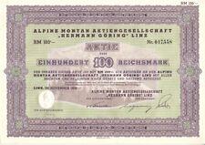 Alpine Montan AG Hermann Göring 1939  Linz