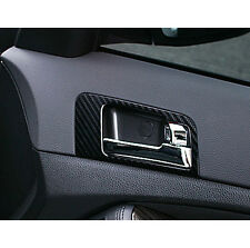 Interior 3D Carbon Black Fabric Decal Sticker B type For 11 12 13 Kia Optima K5