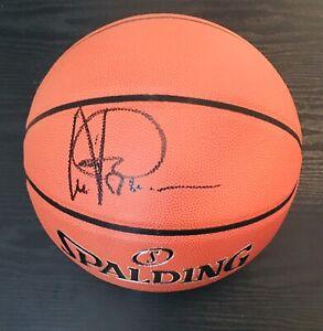 Artis Gilmore Autographed Spalding NBA Basketball Bulls San Antonio Spurs/ JSA