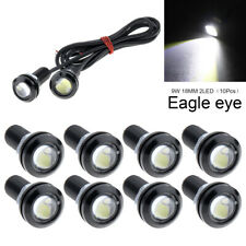 10X 9W Eagle Eye Lamp Daylight LED DRL Fog Daytime Running Car Light Tail Lights