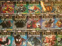 Marvel Chess Pieces (w/Magazines) Spider-Verse Avengers X-Men Venom Eaglemoss
