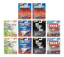 Hot Wheels 1:64 RETRO 2021 Rugrats Top Gun Masters Universe DMC55-957A Case 10