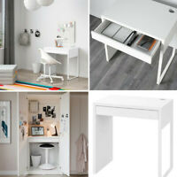 Ikea Micke Home Office Computer White Work Station Table Desk For 73x50 cm