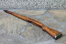 ORIGINAL WWII GERMAN ARMY WOODEN RIFLE STOCK FOR MAUSER K98 . GERMAN MARKING. *a