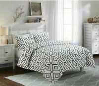 Luxury 100% Egyptian Cotton Printed Duvet Cover Sets Bedding Set All Sizes
