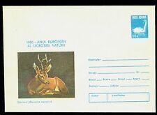 1980 Roe deer,Capreolus c.,animals,European Nature Protection,Swan,Romania,cover