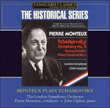 Monteux Plays Tchaikovsky (CD, Apr-2006, 2 Discs, Vanguard)