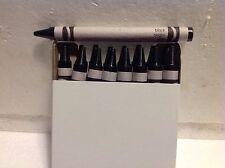 (16) Crayola Crayons (black) BULK