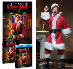 Scream Factory Silent Night Deadly Night 2 Blu-ray - Action Figure - Poster